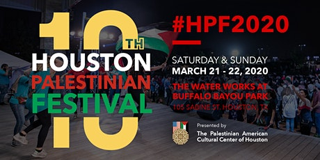 10th Annual Houston Palestinian Festival tickets