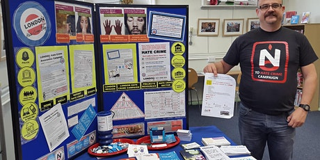 17-24-30 NationalHCAW Hate Crime Information Stall tickets