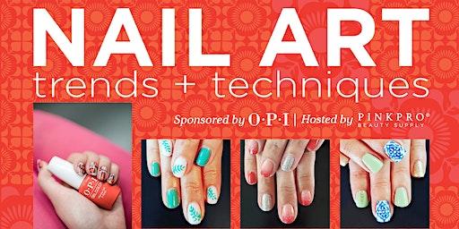 Nail Art Class: Trends & Techniques