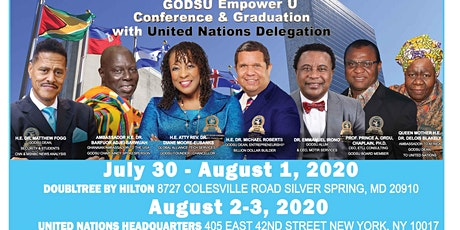 Empower U Conference & Graduation Silver Spring, MD July 30th - August 2, 2020 tickets