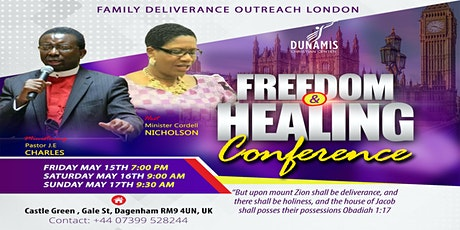 FREEDOM AND HEALING DELIVERANCE OUTREACH LONDON, UK tickets