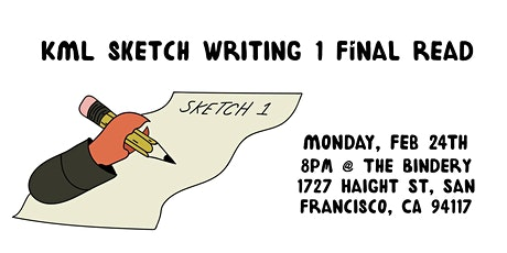 KML Sketch Writing 1 Final Read tickets