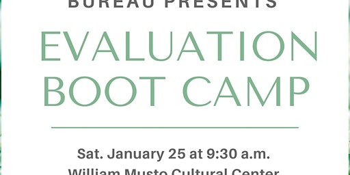 Evaluation Boot Camp