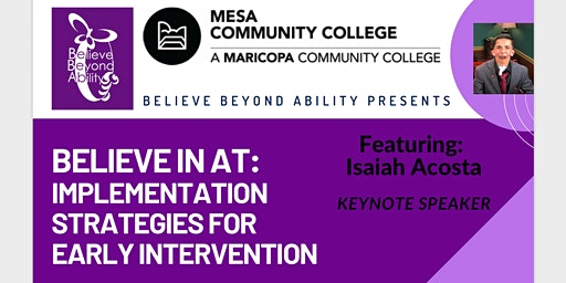 Believe In AT: Implementation Strategies for Early Intervention