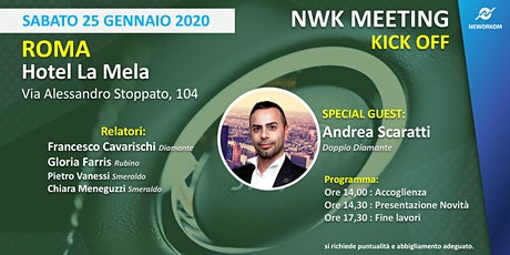 Neworkom Kickoff biglietti