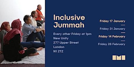 Inclusive Jummah Prayers tickets