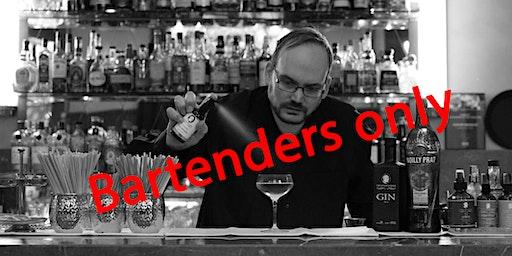"""Workshop mit Michael Schneider von """"The seventh Sense"""" für Bartender"""