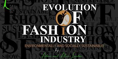 2020 CALLING ON EVOLUTION OF FASHION - SUSTAINABILITY tickets
