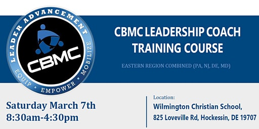 CBMC Eastern Region Leadership Coach Training Course