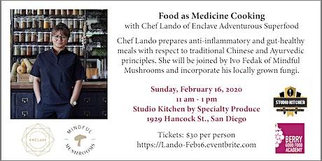 Food as Medicine Cooking with Chef Lando (BGF Academy) tickets