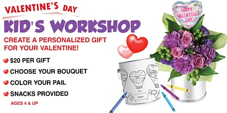 Valentine's Day Kid's Workshop - Create a Flower Gift! tickets