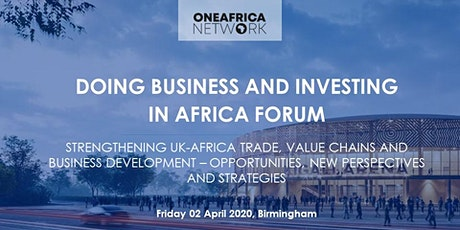 Doing Business and Investing in Africa: Market, Opportunities & Complexity tickets