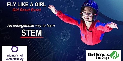 Girl Scouts San Diego STEM Event at iFLY