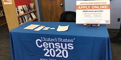 2020 Census Recruiting tickets