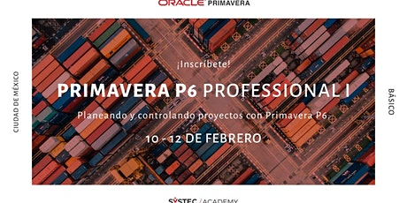 Primavera P6 Professional I (Básico) tickets