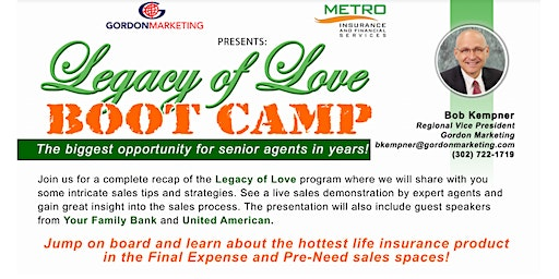 Legacy of Love Bootcamp
