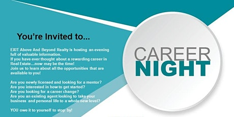Real Estate Career Night tickets