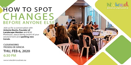 How to spot changes before anyone else? with Professor Antonio Davila entradas