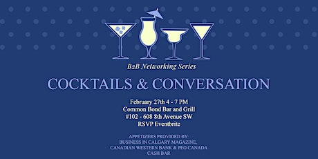 Cocktails & Conversation tickets