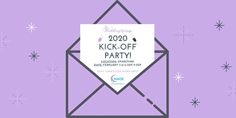 2020 Wedding and Event Vendor Kick Off! tickets
