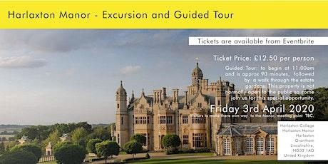 Harlaxton Manor Tour tickets
