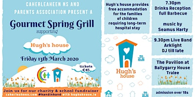 Caherleaheen Parents Assoc. Gourmet Spring Grill supporting Hugh's House