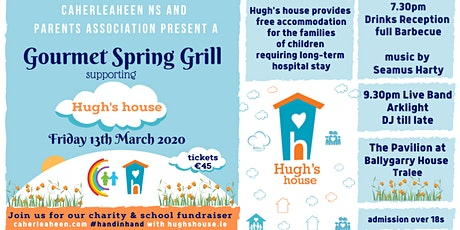 Caherleaheen Parents Assoc. Gourmet Spring Grill supporting Hugh's House tickets