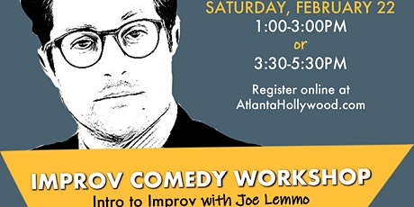 Intro to Improv Comedy Workshop tickets