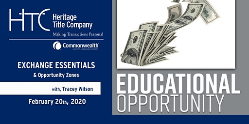 Exchange Essentials and Opportunity Zones