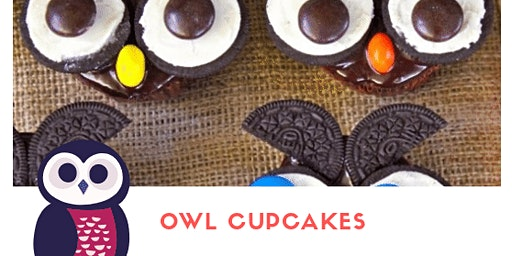 OWL CUPCAKES - Cooking Lab