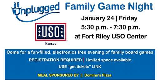 Unplugged Family Game Night | January 24