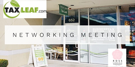 Networking Meeting at TAX LEAF tickets