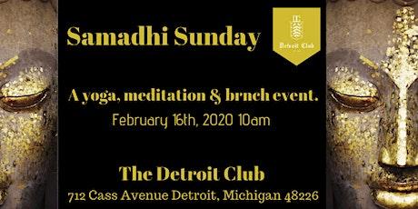 Samadhi Sunday Breath, Move, Nourish... tickets