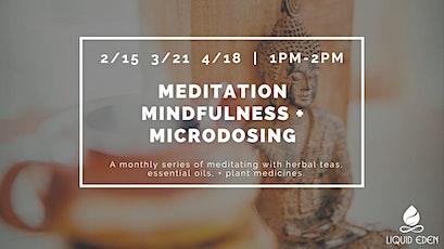 Meditation, Mindfulness, + Microdosing tickets