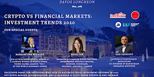 Davos Luncheon: Crypto vs Financial Markets - Investment Trends 2020