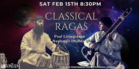 Classical Ragas  | Paul Livingstone and Neelamjit Dhillon tickets