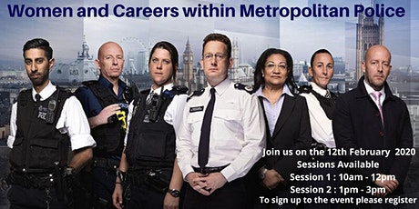 Women and Careers within Metropolitan Police tickets