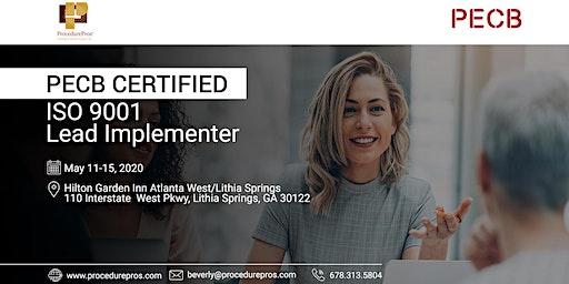 PROCEDUREPROS PECB Certified ISO 9001 Lead Implementer(Training in Atlanta)