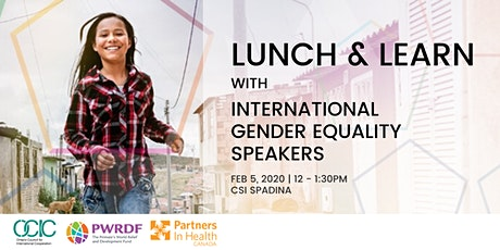 Lunch & Learn with International Gender Equality Speakers tickets