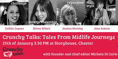 CRUNCHY TALKS: TALES FROM MIDLIFE JOURNEYS | The Language of Ageism tickets