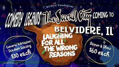 Second City Laughing for All the Wrong Reasons - Belvidere, IL tickets