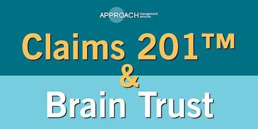 Claims 201™ & Brain Trust - Lacey April