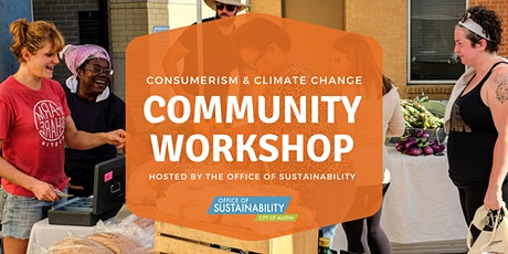 Consumerism and Climate Change Community Workshop tickets