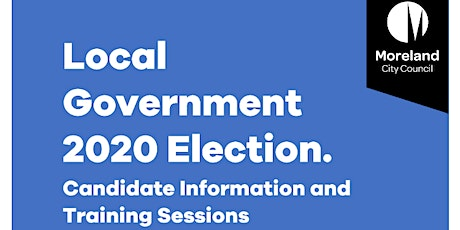 2020 Candidate Training Moreland City Council tickets