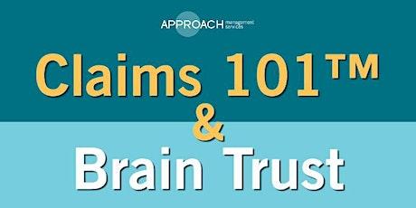 Claims 101™ & Brain Trust - Bellevue - November tickets