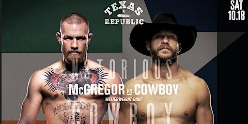 UFC 246 McGregor vs Cowboy Watch Party at Texas Republic