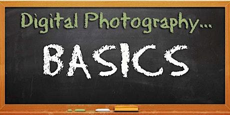 Digital Photography Basics tickets