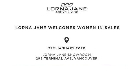 Women in Sales - January 29th - Sponsored by LORNA JANE tickets