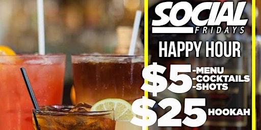 Social Fridays (HAPPY HOUR)  @ CAFE CIRCA EVERY FRIDAY