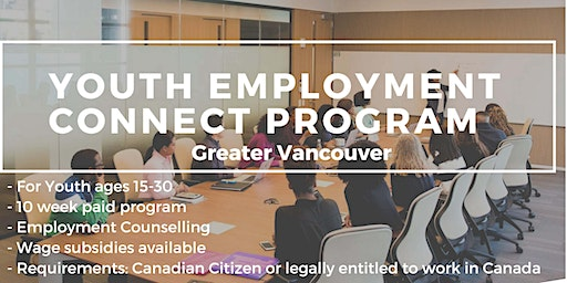 Information Session - Youth Employment Connect Program